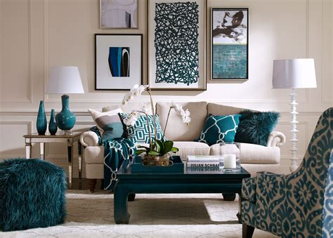 Peacock Decorating Ideas For Living Room by Blue Lagoon Living Room Ethan Allen For The Home