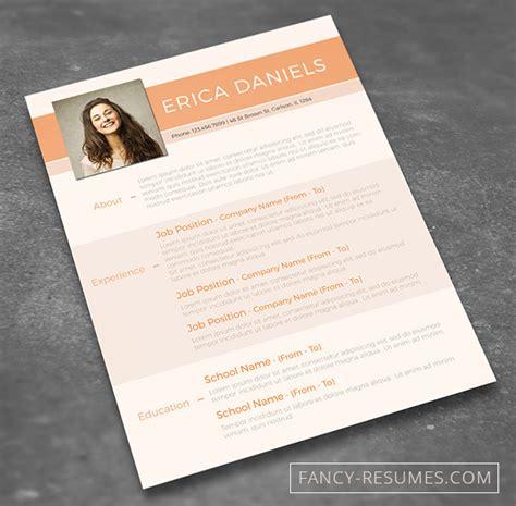 creative resume templates word free 28 minimal