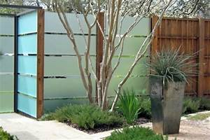 Zaun Aus Glas : sichtschutz aus glas die neusten tendenzen in 49 bilder ~ Yasmunasinghe.com Haus und Dekorationen