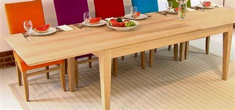 Extending Party Dining Tables Made In Oak Or Walnut