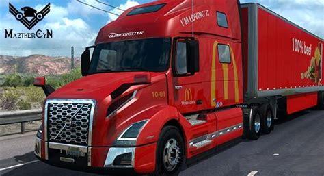 brand new volvo truck price mcdonalds volvo vnl 760 2018 cargo skin v1 0 ats mod