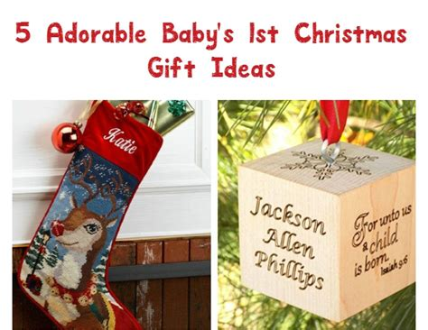 5 great gift ideas for baby s first christmas our family