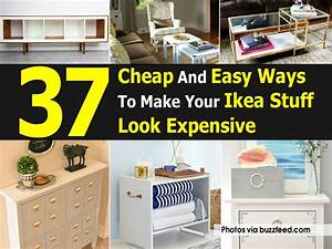 37, Cheap, And, Easy, Ways, To, Make, Your, Ikea, Stuff, Look, Expensive
