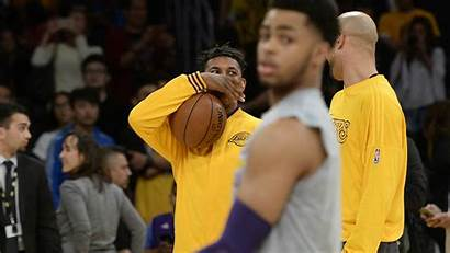 Lakers Nick Young Angelo Russell Sporting Forgive