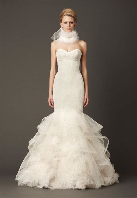 Vera Wang Fall 2013 Wedding Dresses Junebug Weddings