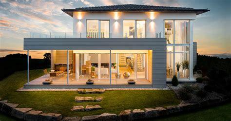 Moderne Häuser Viel Glas by Holzhaus Mit Viel Glas Kochimmobilien Modernes Holzhaus