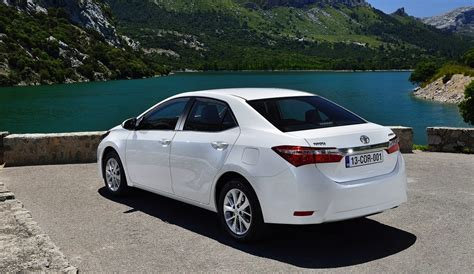 toyota sedan 2014 toyota corolla sedan details revealed photos