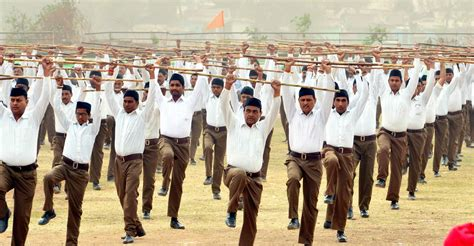 Rss Chief Takes A Dig At The Army, Says Sangh Parivar Can