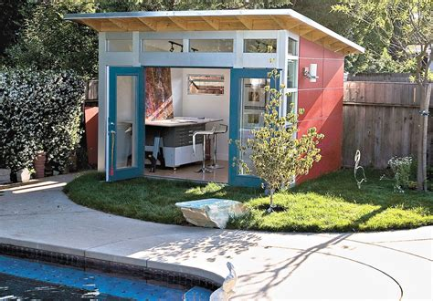 backyard shed cave from caves to she sheds creating a custom backyard