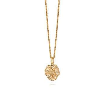Fossil Fs02 Gold Plat White isla starfish fossil necklace silver gold fossil