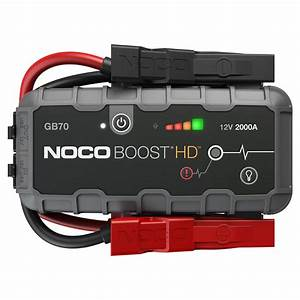 Genius Boost Hd Gb70 Lithium 2000a Jump Starter