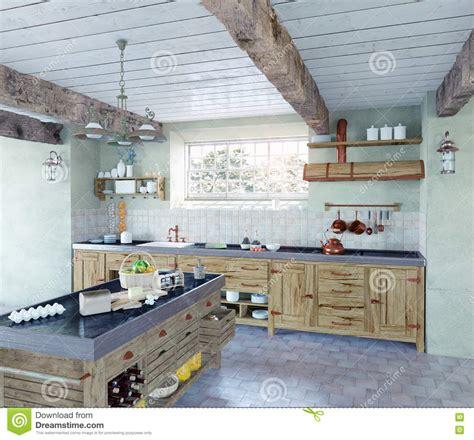 cuisine a l ancienne cuisine à l 39 ancienne illustration stock image du