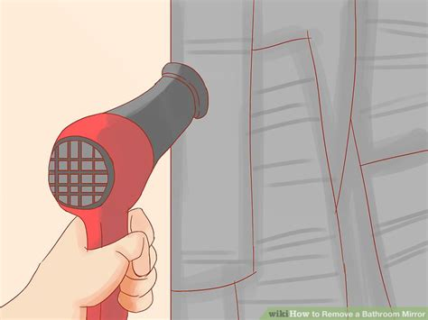 How To Remove A Bathroom Mirror