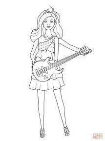 coloriage barbie pop star keira coloriages 224