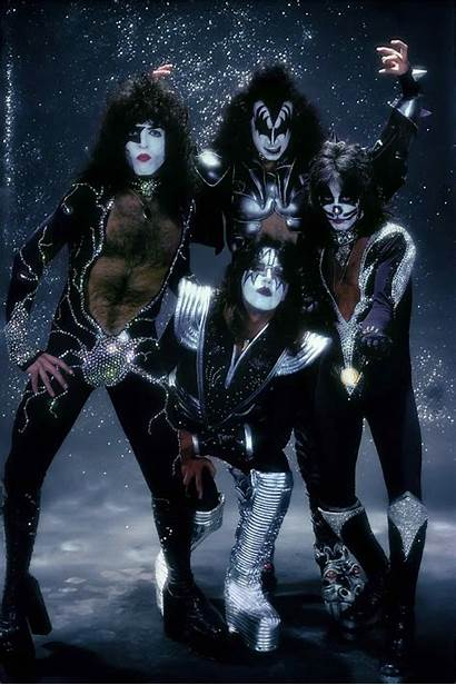 Kiss Band Rock Wallpapers Roll Bands 1976