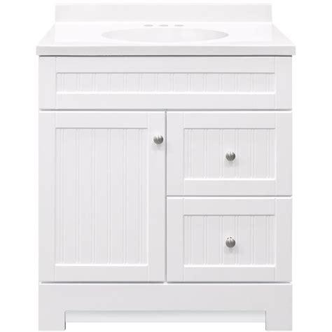 Style Selections Ellenbee 30 5 in White Single Sink