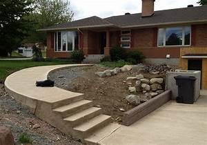 Aménagement Extérieur Maison : amenagement terrain devant maison inds ~ Farleysfitness.com Idées de Décoration