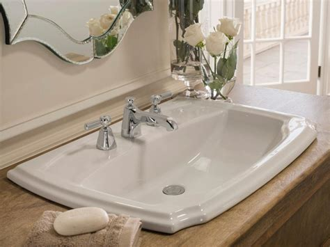 Small Overmount Bathroom Sink by Bathroom Sink Styles Hgtv
