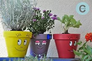 les fantaisies de cocorely les barba pots With chambre bébé design avec pot de fleur design exterieur