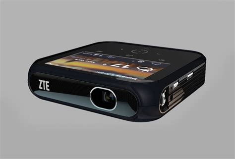 zte projector hotspot zte android projector hotspot unveiled offering 1080p and lte