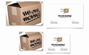 Office Moving Announcement Template Design