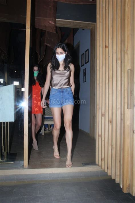 katrina kaif  breath   denim shorts