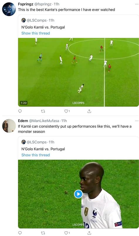 Chelsea fans noticed what N'Golo Kante did during France's ...