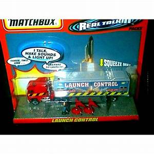 Matchbox Real Talking NASA Launch Control Command Truck ...
