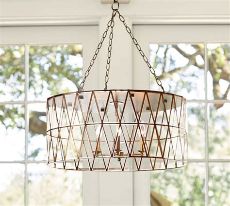 Pottery Barn Baby Ceiling Lights by Grace Chandelier Pottery Barn