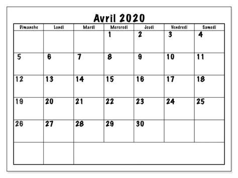 calendrier avril  verticale image befarocom