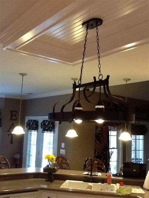 kitchen replace fluorescent light fixture