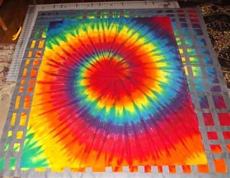 Tie Dye Quilt Finished  Tim Latimer  Quilts Etc