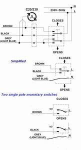 Double Pole Single Throw Switch Wiring Diagram