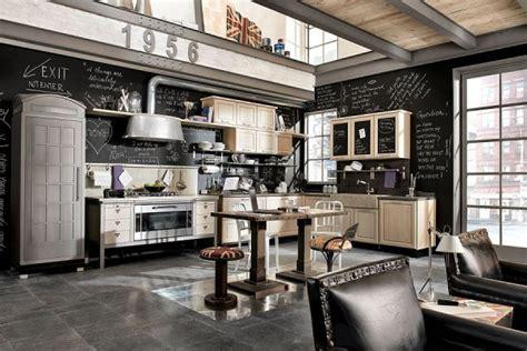 cuisine type industriel cuisine industrielle 43 inspirations pour un style