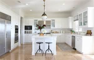 16, Stylish, Ideas, For, Decorating, White, Kitchen