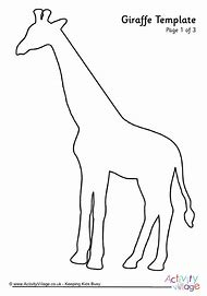 best 25 ideas about giraffe template printable find what you ll love