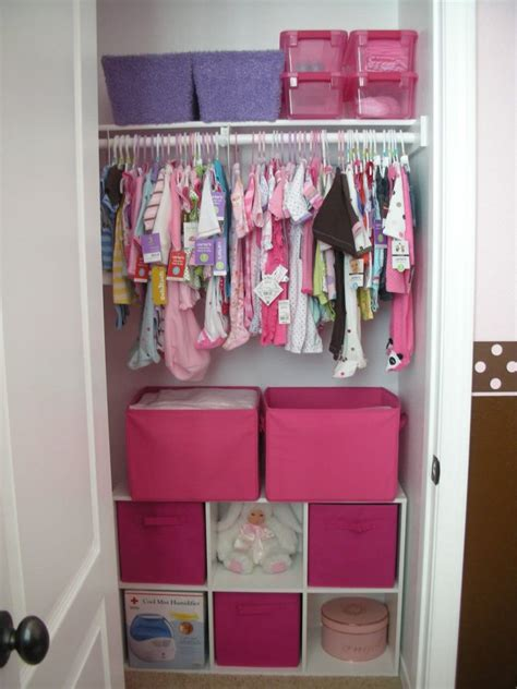 Small Baby Closet Organization Ideas by Small Nursery Closet Search Baby Stuff
