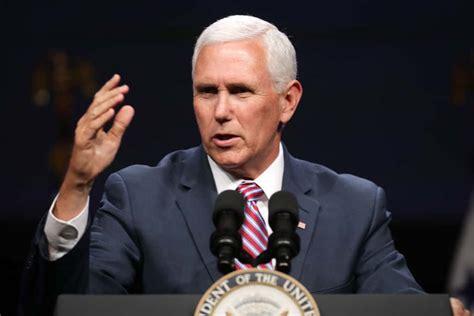 dozens walk   mike pences speech  evangelical