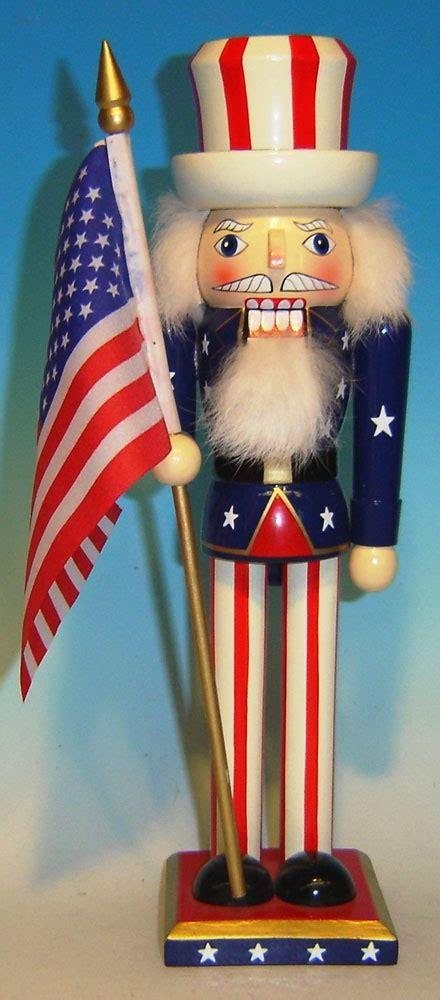christmas nutcrackers uncle sam patriotic nutcracker