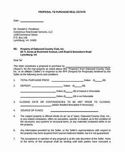 sample real estate proposal template 9 free documents With land sale proposal sample letter