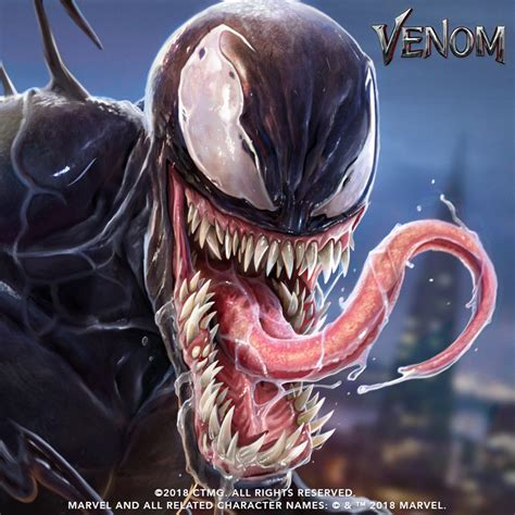 New Venom Promo Art Reveals Another Look At The Symbiote