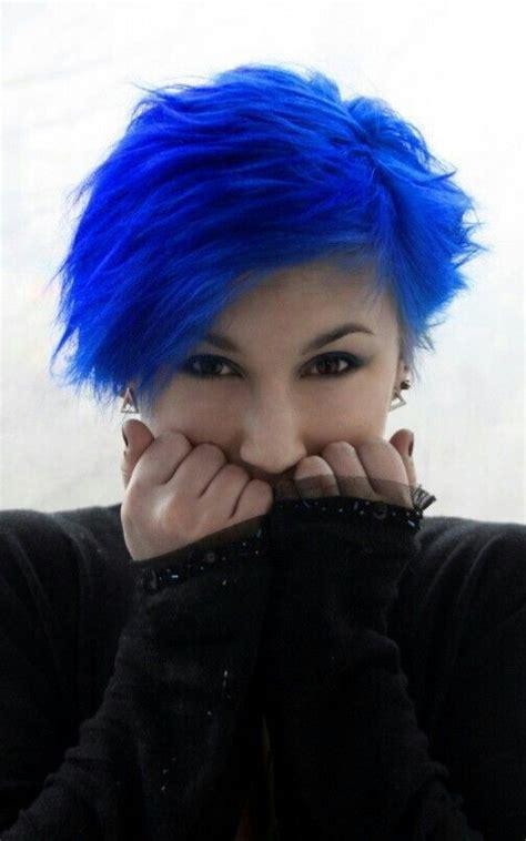 25 Best Ideas About Royal Blue Hair On Pinterest Dark