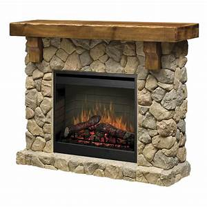 Dimplex Fieldstone SMP-904-ST Electric Fireplace Wall