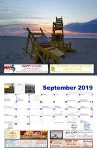 July 2020 Weekly Calendar 2019 Events Ocean City Md Ocean City Cool