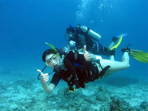 scuba diving  thailand information  advice