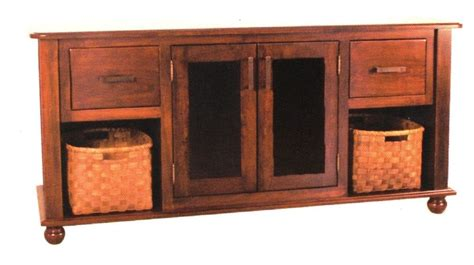 solid wood tv table amish plasma lcd tv stand solid wood television shaker ebay
