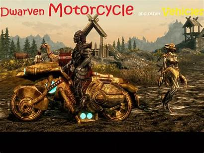 Dwarven Motorcycle Skyrim Se Mods Bugs Problems