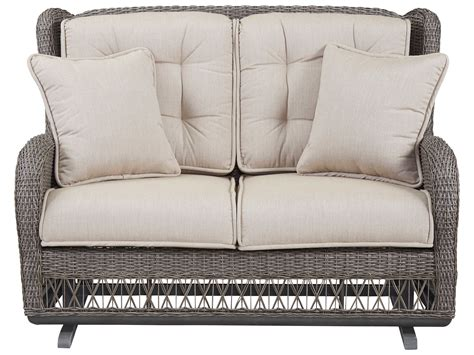 Paula Deen Outdoor Dogwood Wicker Loveseat Glider