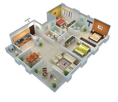 denah rumah minimalis  kamar tidur type   denah