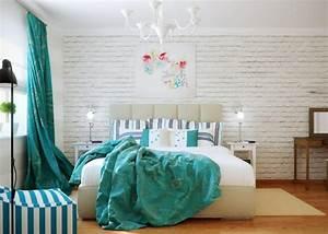 Schlafzimmer Gardinen Ideen : schlafzimmer dekorieren sparsam aber mit geschmack dekorieren ~ Frokenaadalensverden.com Haus und Dekorationen